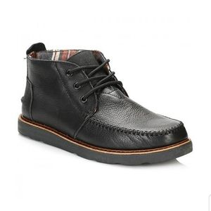 TOMS Black Chukka Boots Shoes Men's 10